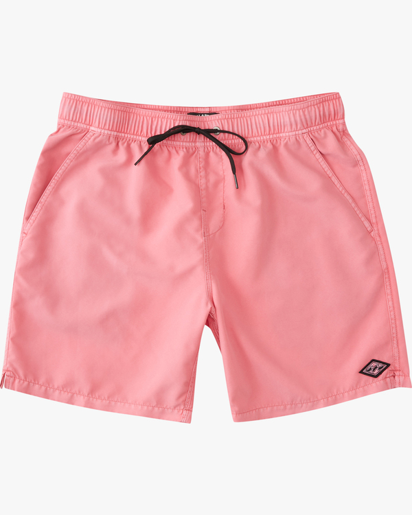 0 All Day Overdyed Essential Boardshort Pink ABYBS00226 Billabong