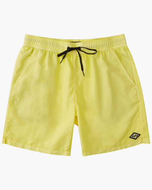 0 All Day Overdyed Essential Boardshort Yellow ABYBS00226 Billabong