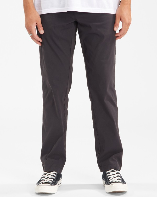 0 A/Div Surftrek Plus Pants Black ABYDP00101 Billabong