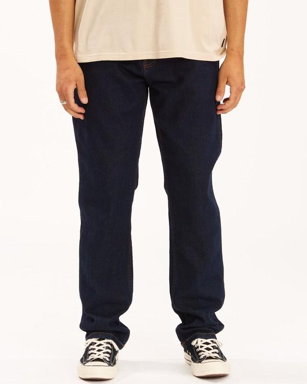 0 Wrangler 73MWOZ Organic Jeans Blue ABYDP00103 Billabong
