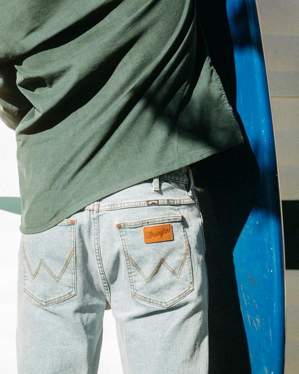 0 Wrangler 73MWOZ Organic Jeans Blue ABYDP00105 Billabong