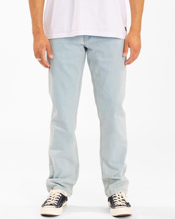 0 73 Slim Straight Jeans Blue ABYDP00107 Billabong