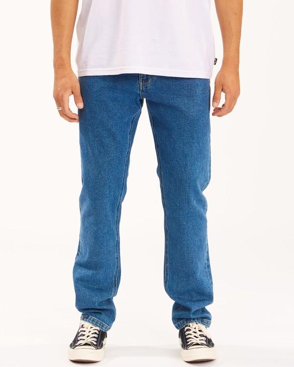 0 73 Slim Straight Jeans Brown ABYDP00107 Billabong