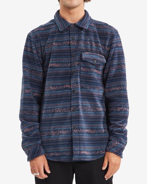 0 A/Div Furnace Flannel Shirt Blue ABYFT00101 Billabong