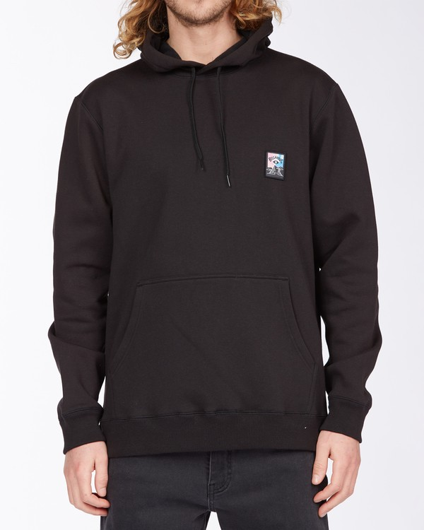 0 Eyesolation Pullover Hoodie Black ABYFT00131 Billabong