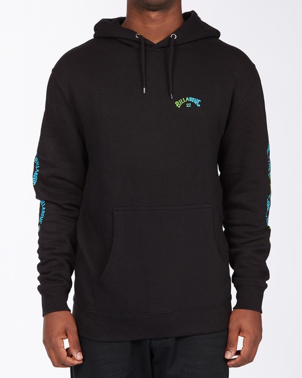 0 Arch Wave Pullover Hoodie Black ABYFT00174 Billabong