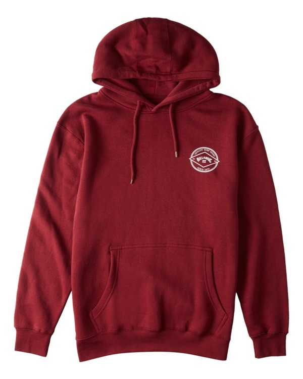 0 Rotor Arch Pullover Hoodie Red ABYFT00176 Billabong