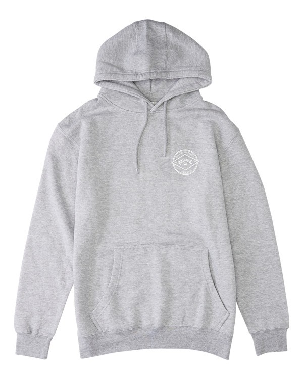0 Rotor Arch Pullover Hoodie Grey ABYFT00176 Billabong