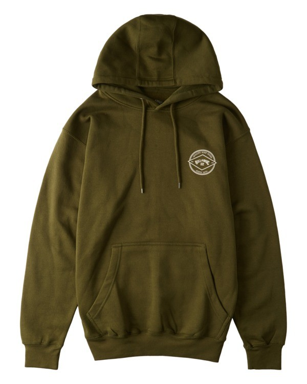 0 Rotor Arch Pullover Hoodie Green ABYFT00176 Billabong