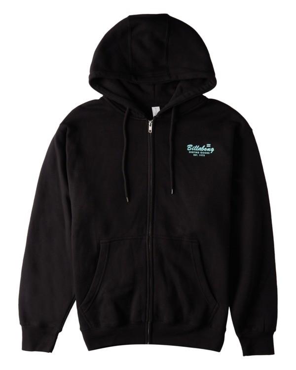 0 Surfing Goods Full Zip Hoodie Black ABYFT00178 Billabong
