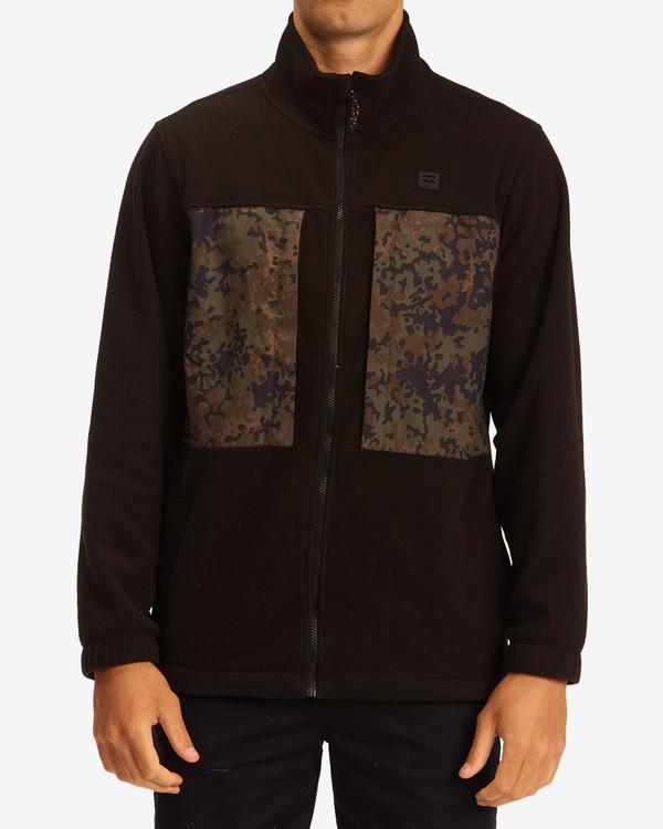 0 A/Div Canyon Graphene Zip-Up Fleece Black ABYFT00186 Billabong