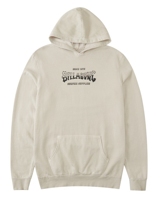 0 Surf Supply Wave Washed Pullover Hoodie Red ABYFT00196 Billabong
