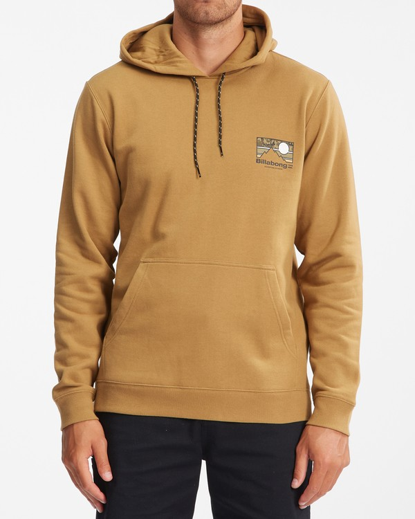 0 A/Div Captain Pullover Hoodie White ABYFT00274 Billabong