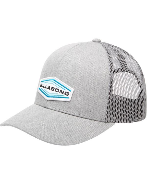 0 Walled Trucker Hat Grey ABYHA00101 Billabong
