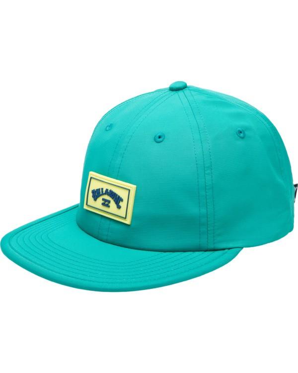 0 Nollie Strapback Hat Blue ABYHA00103 Billabong