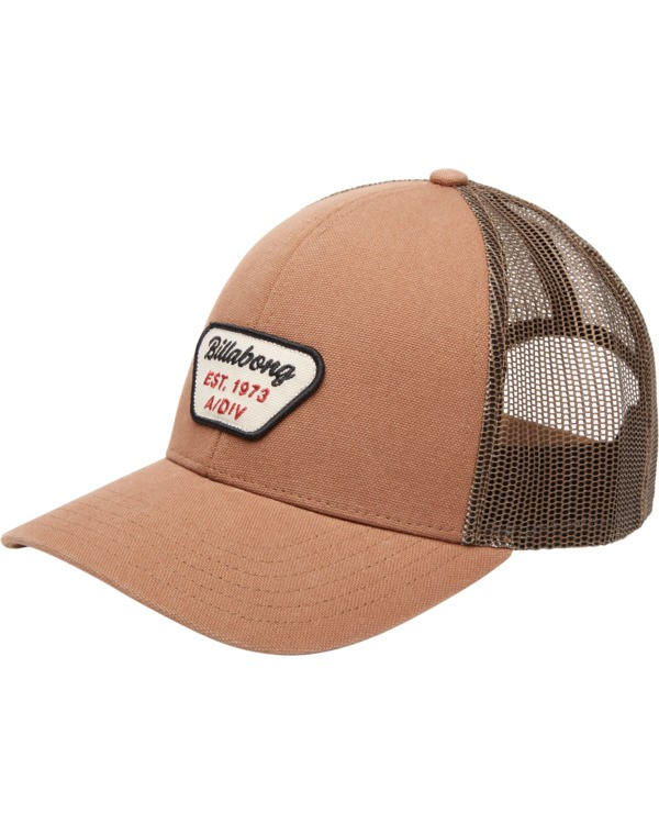 0 Walled Adiv Trucker Hat Brown ABYHA00107 Billabong