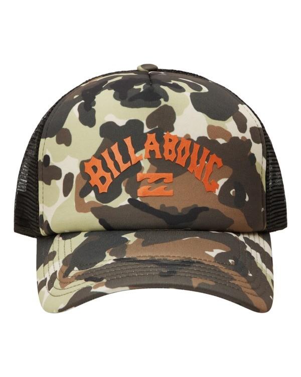 0 Podium Trucker Hat Green ABYHA00113 Billabong