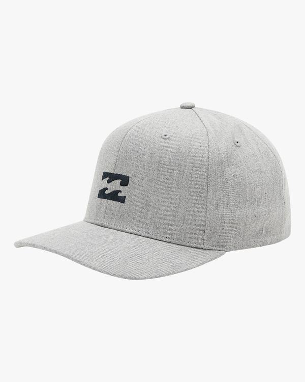 0 All Day Snapback Hat Grey ABYHA00119 Billabong