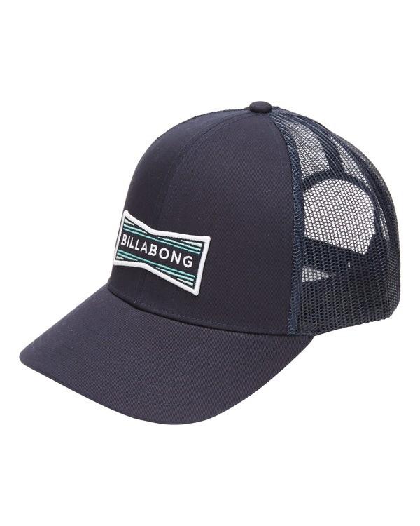 0 Walled Trucker Hat Blue ABYHA00141 Billabong
