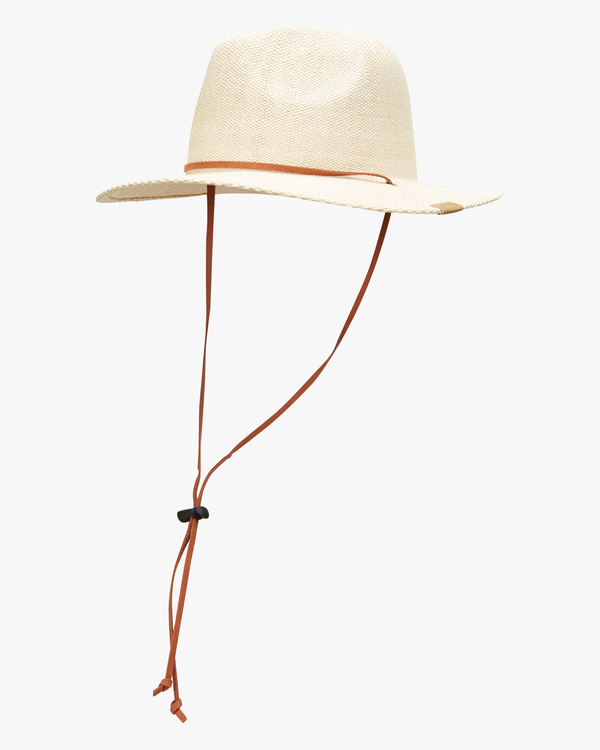 0 The Crusher Straw Hat White ABYHA00154 Billabong