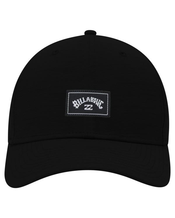 0 A/Div Surftrek Stretch Hat Black ABYHA00214 Billabong