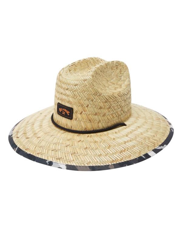 0 Tides Print Straw Lifeguard Hat Green ABYHA00216 Billabong