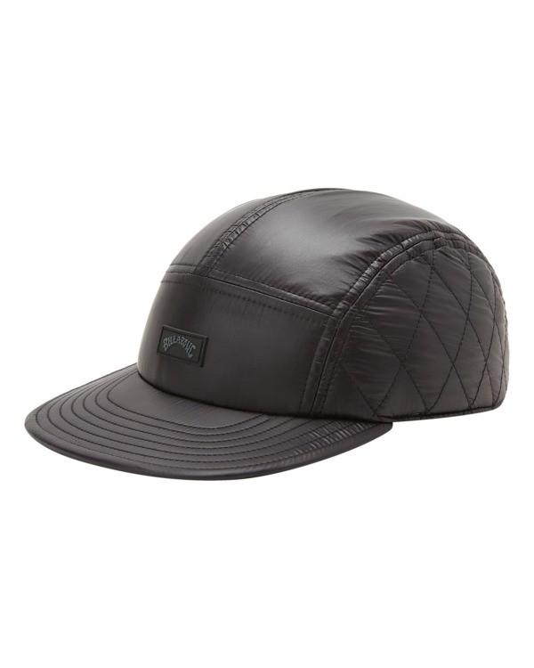 0 A/Div Journey Puffer Strapback Hat Black ABYHA00229 Billabong
