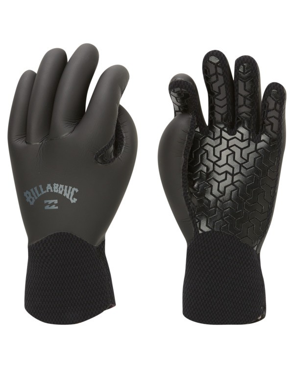 0 3mm Furnace Wetsuit Gloves Black ABYHN00105 Billabong