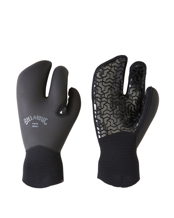 0 7mm Furnace Claw Wetsuit Gloves Black ABYHN00109 Billabong