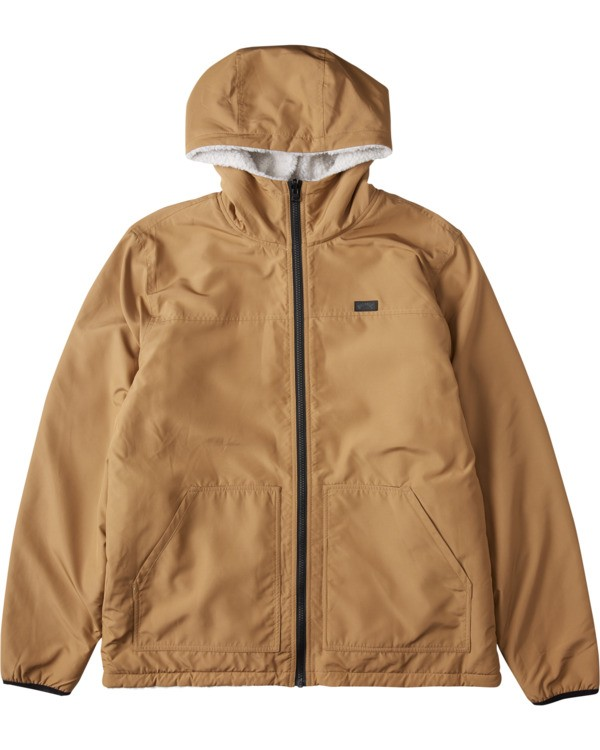 0 Switchback Reversible Jacket Brown ABYJK00100 Billabong