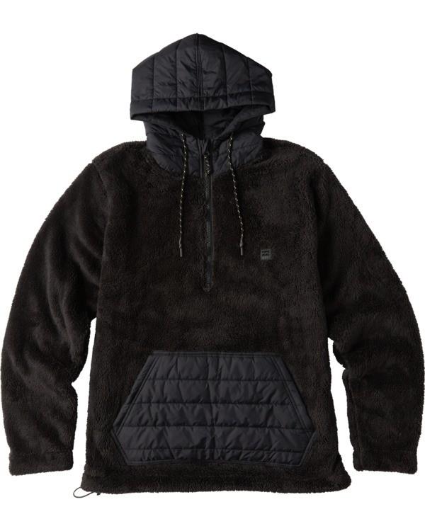 0 Badger Half Zip Hoodie Black ABYKT00100 Billabong