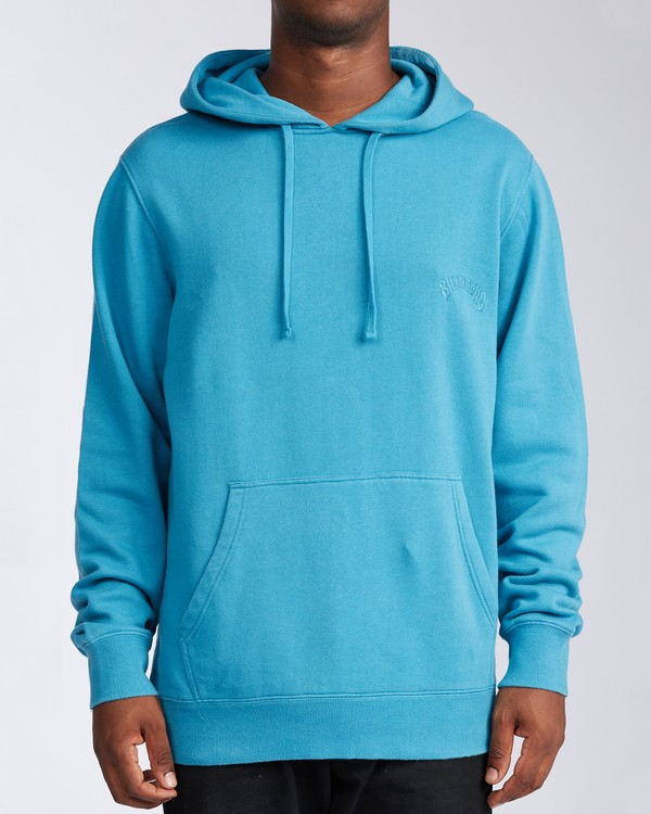 0 Wave Washed Pullover Hoodie Blue ABYKT00113 Billabong