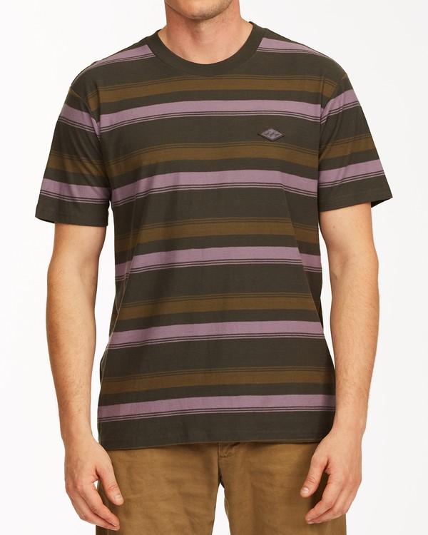 0 Die Cut Crew Neck T-Shirt Black ABYKT00118 Billabong