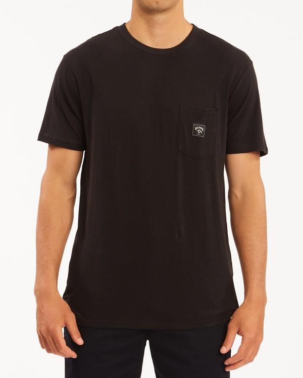 0 A/Div Sonoma Hemp Pocket T-Shirt Black ABYKT00128 Billabong