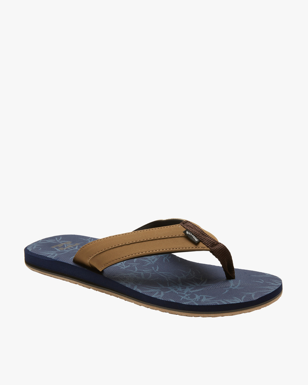 0 All Day Impact Print Sandal Blue ABYL100002 Billabong