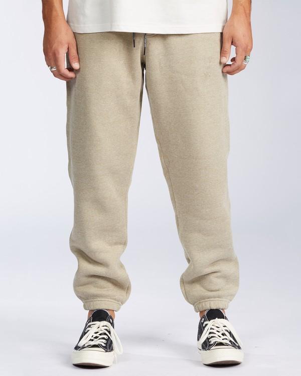 0 Hudson Fleece Pant Beige ABYNP00101 Billabong