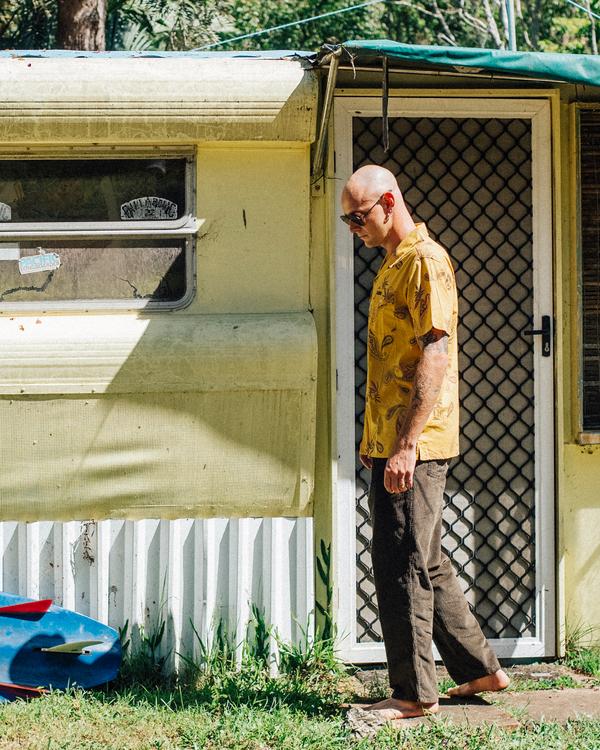 0 Wrangler Bowie Layback Corduroy Pants White ABYNP00105 Billabong
