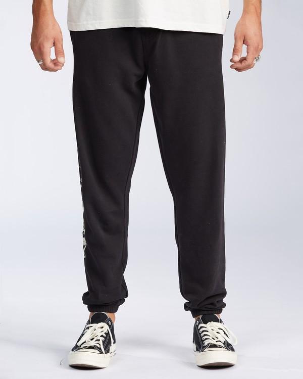 0 Grinchmas Vacation Fleece Pant Black ABYNP00112 Billabong