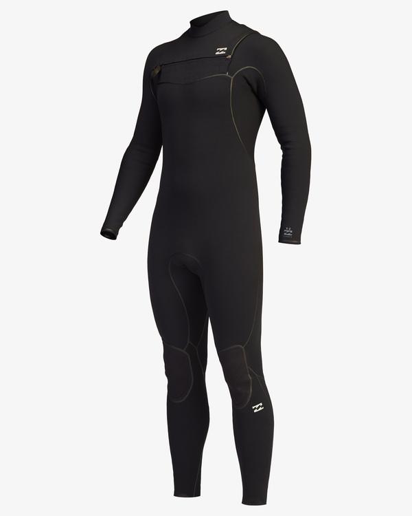 0 3/2 Furnace Chest Zip Full Wetsuit Black ABYW100115 Billabong