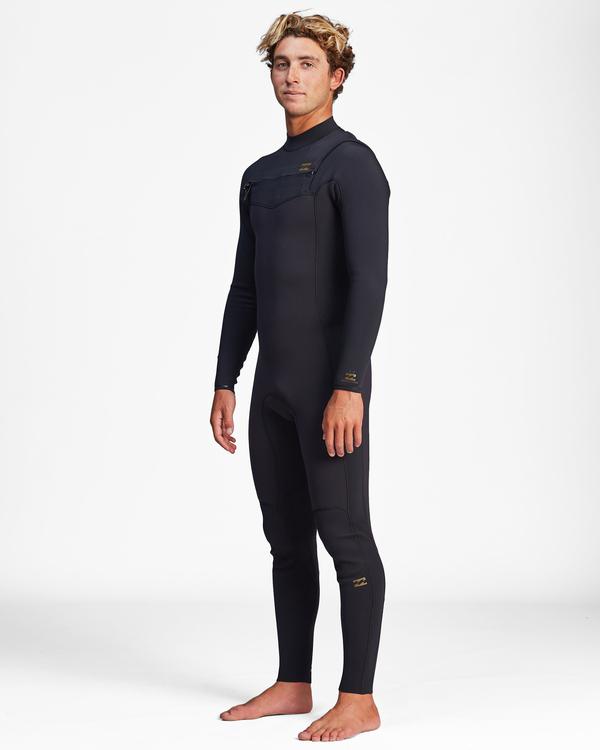 0 3/2 Revolution Chest Zip Full Wetsuit Black ABYW100127 Billabong
