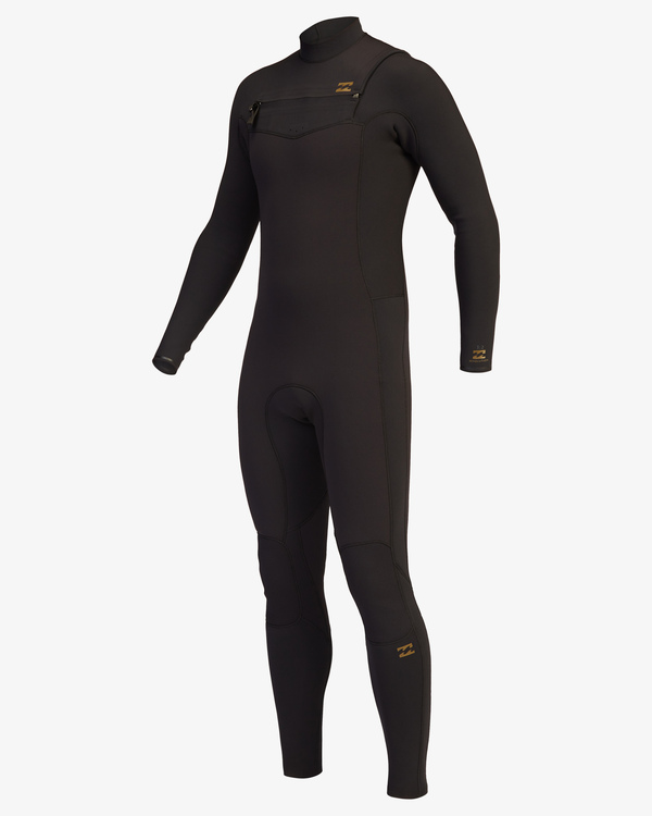 0 4/3 Revolution Chest Zip Full Wetsuit Black ABYW100128 Billabong