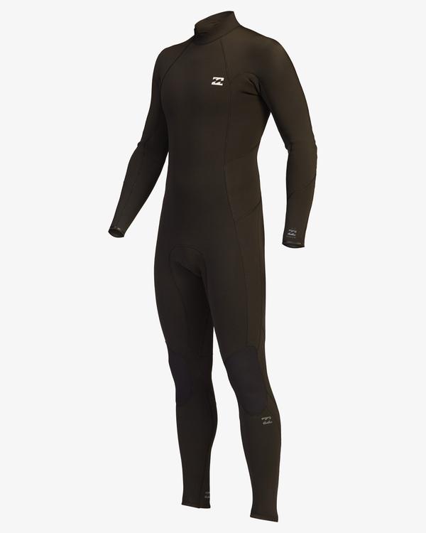 0 4/3 Absolute Back Zip Full Wetsuit Black ABYW100137 Billabong