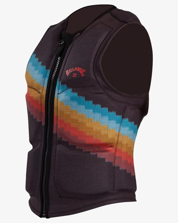 0 T Street Wake Vest Black ABYWP00103 Billabong