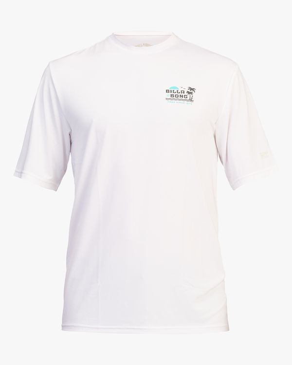 0 Lounge Loose Fit Short Sleeve Rashguard White ABYWR00108 Billabong