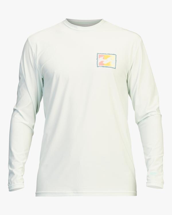 0 Crayon Wave Loose Fit Long Sleeve Rashguard Multicolor ABYWR00112 Billabong