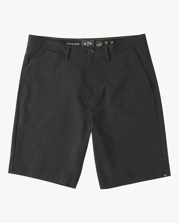"""0 A/Div Surftrek Wick Shorts 20"""" Black ABYWS00148 Billabong"""