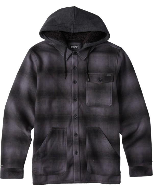0 A/Div Furnace Bonded Flannel Black ABYWT00106 Billabong