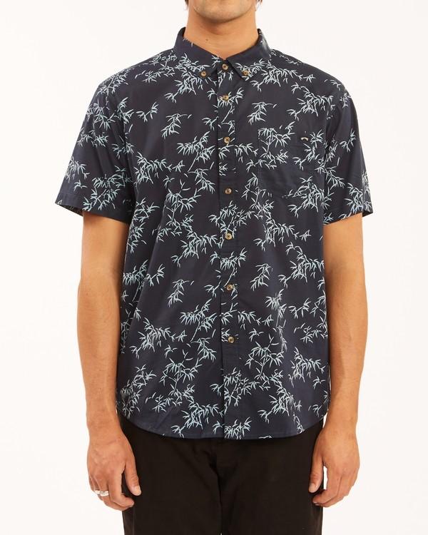 0 Sundays Mini Short Sleeve Shirt Blue ABYWT00112 Billabong