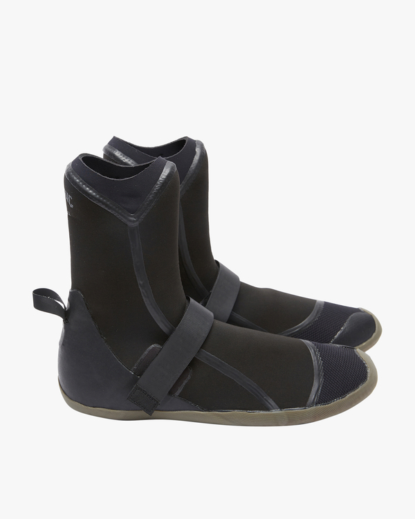 0 7mm Furnace Round Toe Wetsuit Boots Black ABYWW00105 Billabong