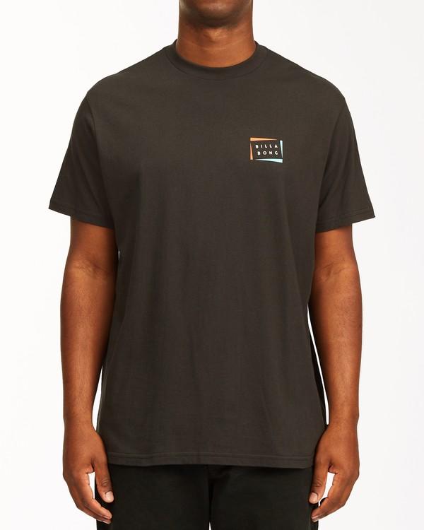 0 Diecut Short Sleeve T-Shirt Black ABYZT00107 Billabong